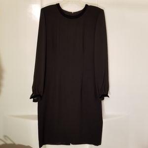 Vintage Gothic Black Dress by Donna Morgan size 12